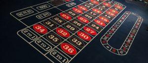 Frans roulette: inzetten gebaseerd op het roulette wiel