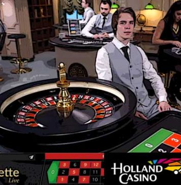Holland Casino croupier is ook overvaller