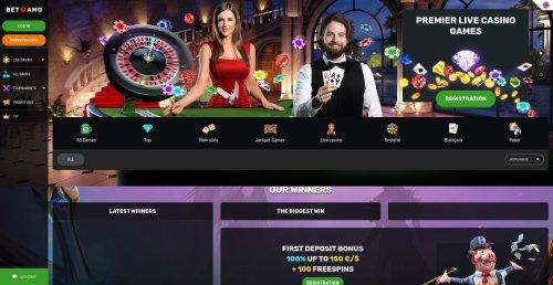 rouletteonlinespelen.nl Betamo casino screenshot
