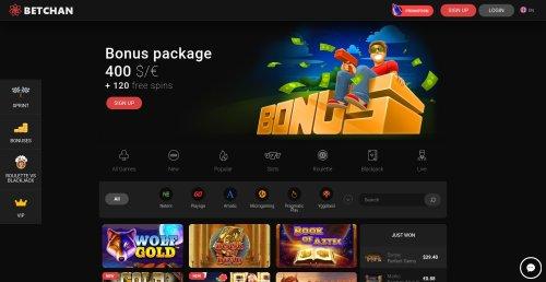 rouletteonlinespelen.nl Betchan casino screenshot