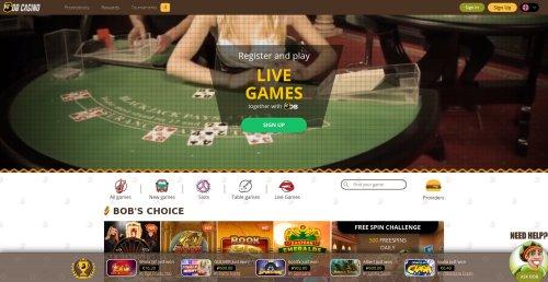 rouletteonlinespelen.nl Bob casino screenshot