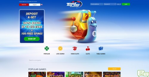 rouletteonlinespelen.nl casino review Turbo casino homepage screenshot